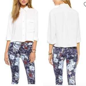 7FAM Cropped Button Down
